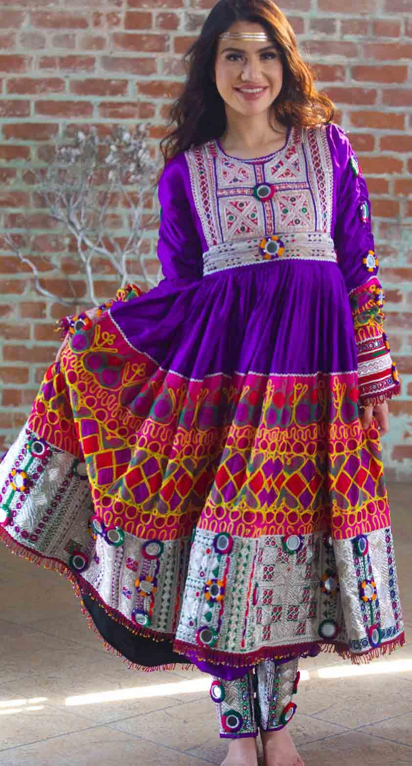 new blue pathani frock style dress designs 2017