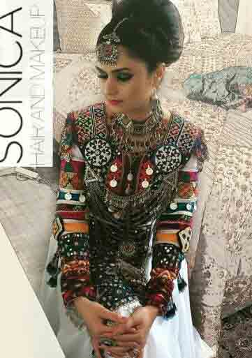 fancy pathani frock style dress designs 2017