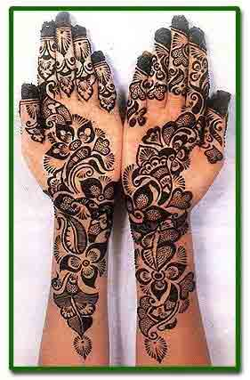 Full front hand and wrist simple Pakistani mehndi designs 2017 for eid