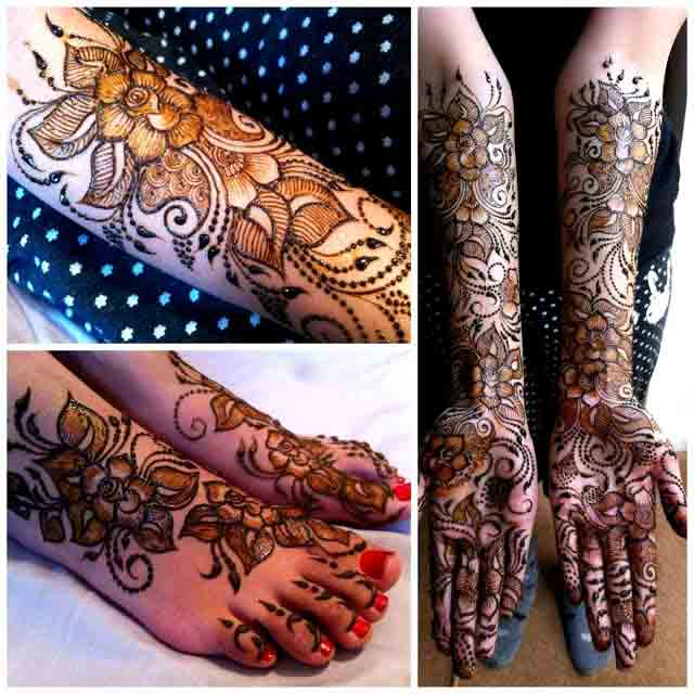 latest mehndi designs for hands feet and arms simple Pakistani mehndi designs 2017 for eid