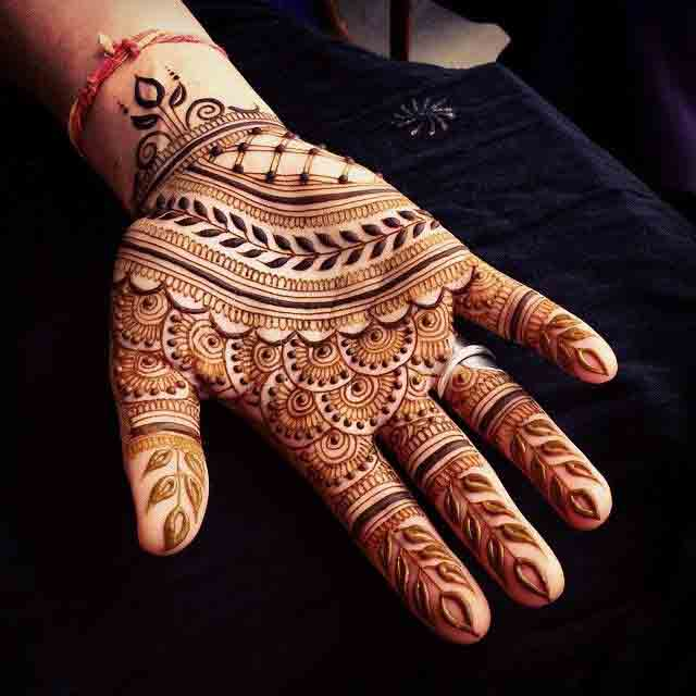 latest full hands mehndi designs for men 2017
