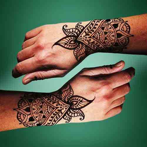 Mehndi For Gents : New style mehndi designs for men in fashioneven