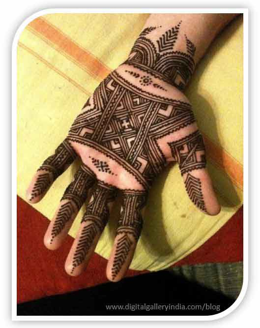 latest full front hand mehndi designs for men 2017