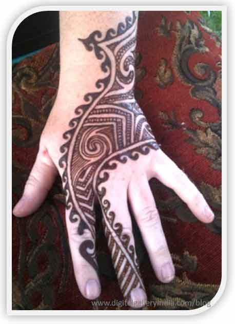 Mehndi Design For Men : New style mehndi designs for men in fashioneven
