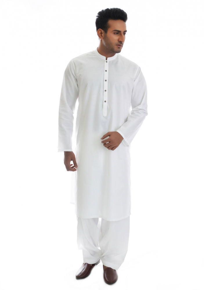 best white shalwar kameez new Eid kurta dresses for boys 2017 Amir Adnan