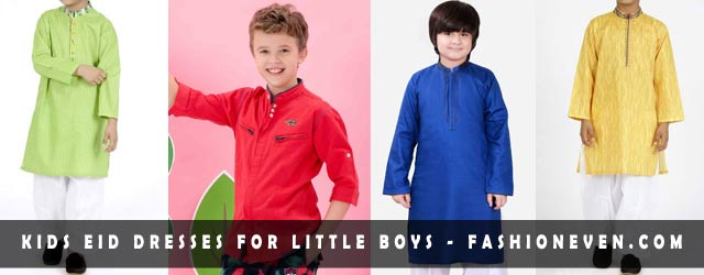 Kids Eid Dresses For Little Boys In Pakistan 2017
