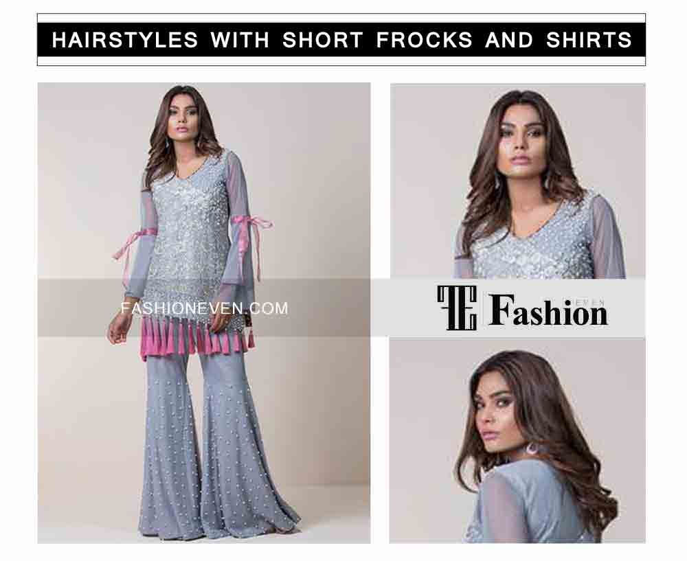 best open hairstyle eid party hairstyles with short frocks shirts and peplum