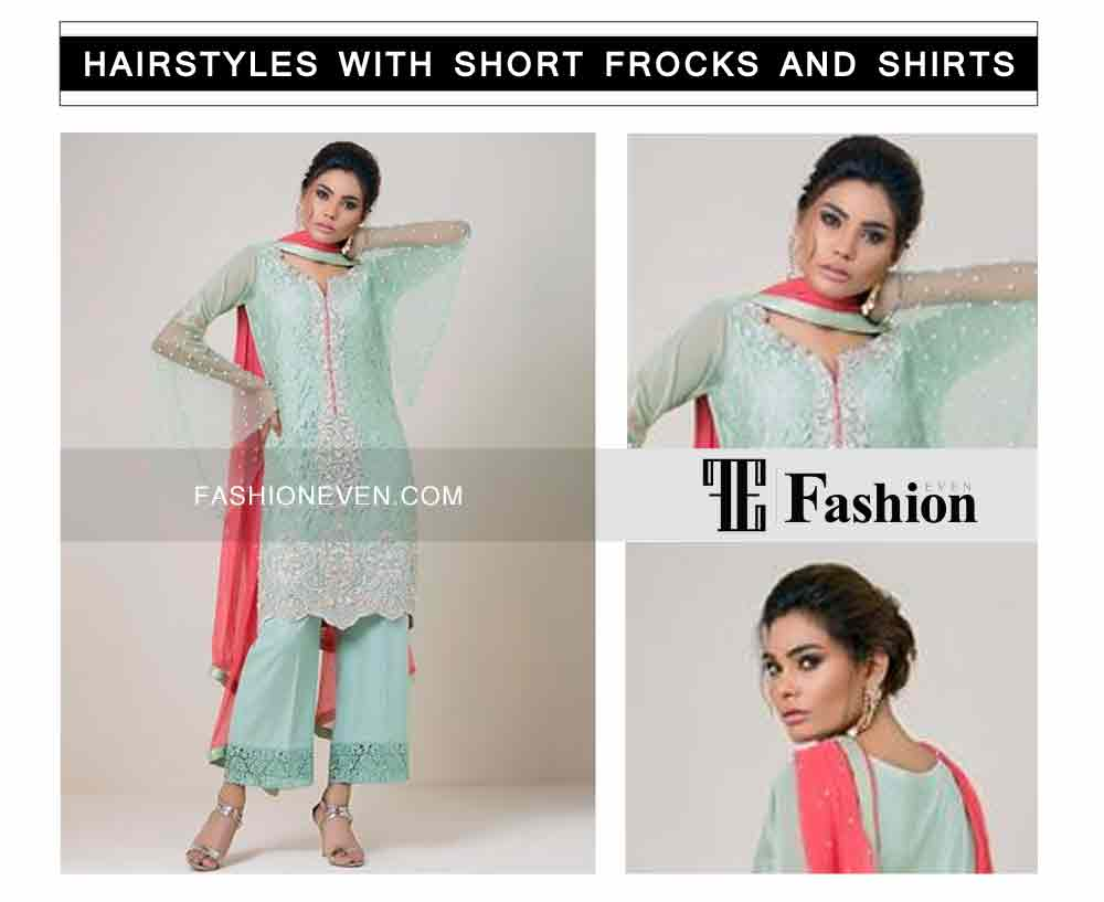 best hair updo eid party hairstyles with short frocks shirts and peplum