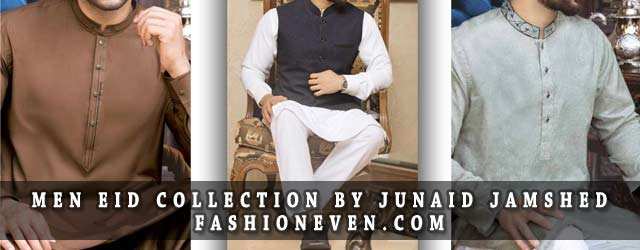 Junaid Jamshed Kurta Designs For Eid 2019