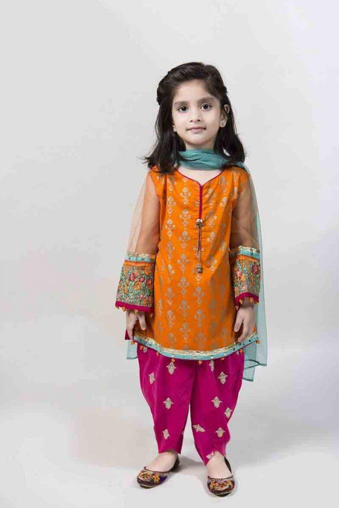 MariaB-Kids-eid-dresses-for-little-girls-in-Pakistan-2 ...