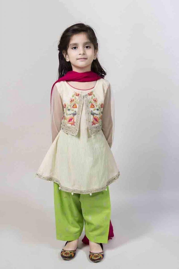 Mariab Kids Eid Dresses For Little Girls In Pakistan 6