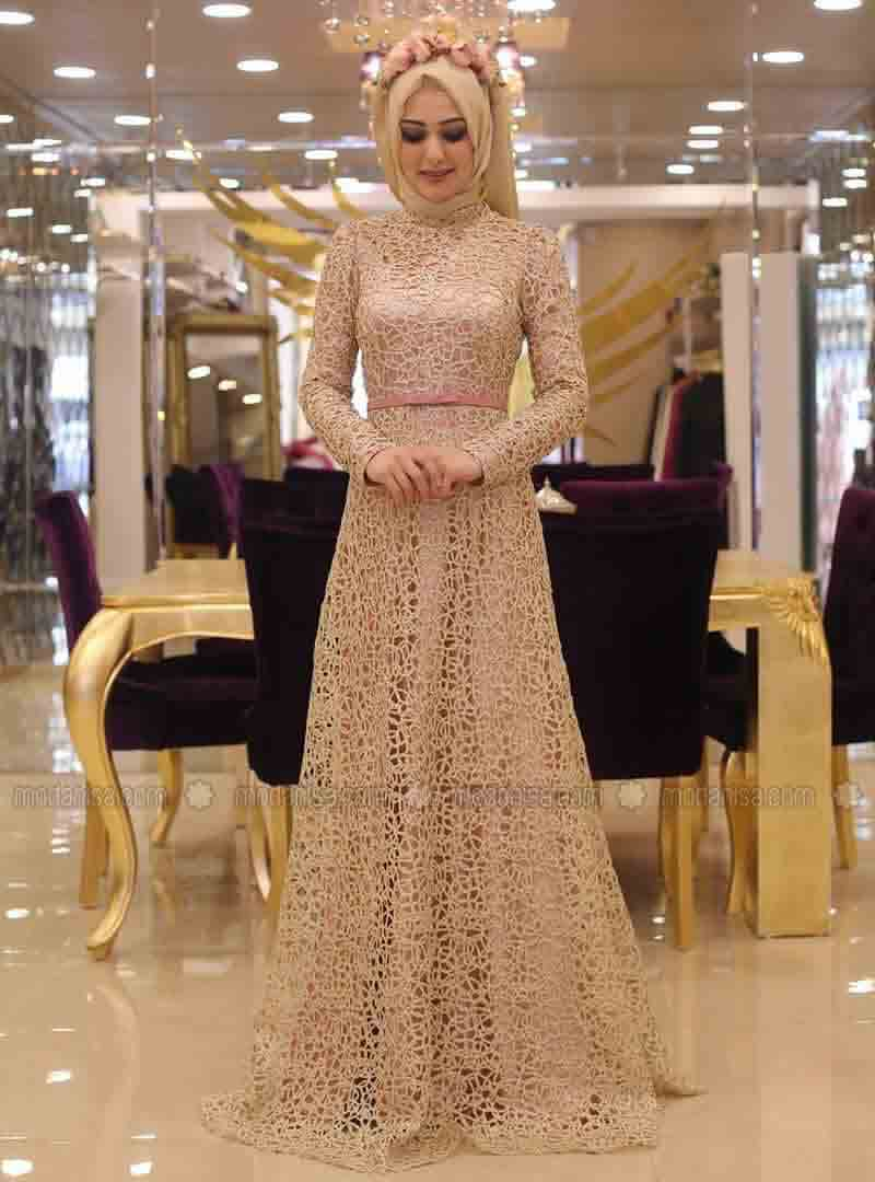 new party hijab with long net maxi gown new eid party hijab style 2017