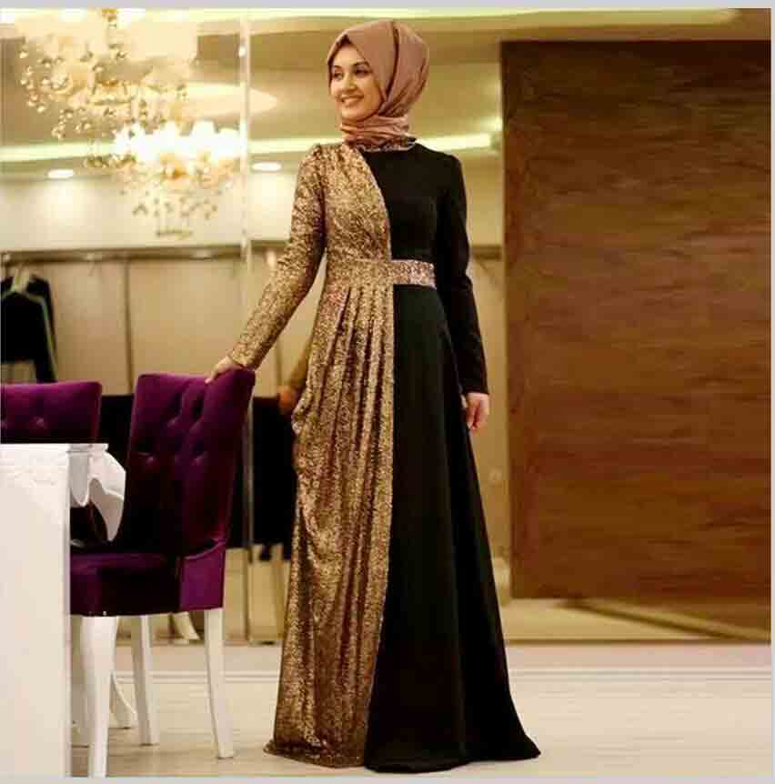 best pakistani hijab style with double shaded abaya new eid party hijab style 2017