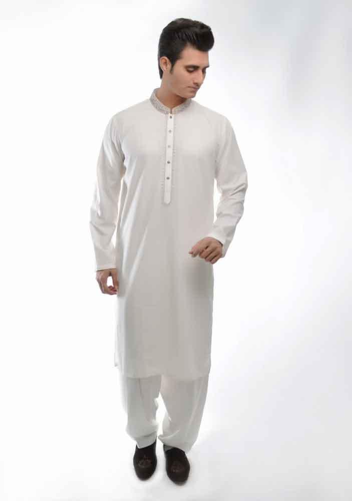 simple white kurta shalwar latest amir adnan men kurta designs for ramadan 2017