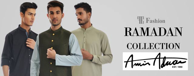 Amir Adnan Kurta Designs For Ramadan 2018
