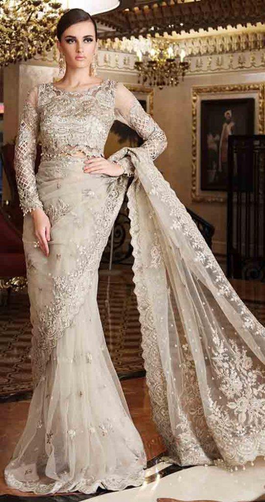 Golden Saree In Pakistan Fashioneven