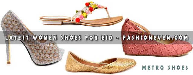 Girls Party Shoes For Eid 2021-2022 By Metro Shoes
