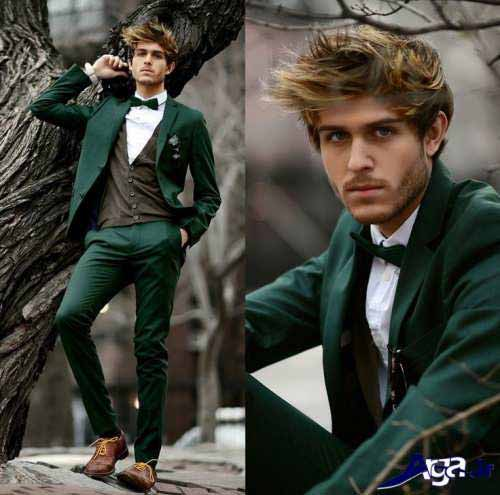 Green pant coat with white shirt and bow for Pakistan independence day dresses for boys 2017
