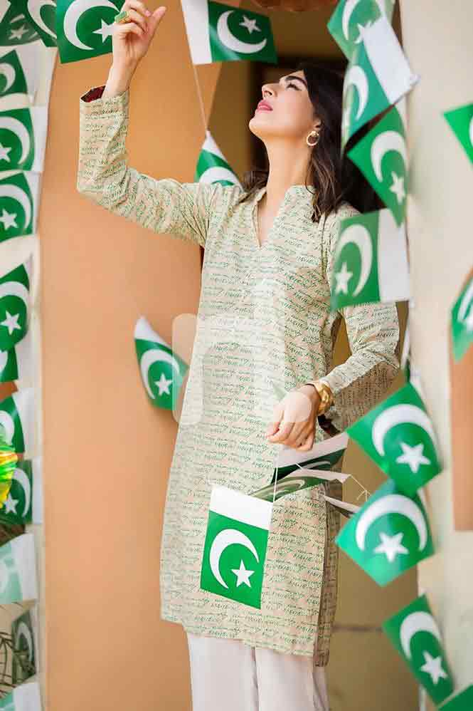 Best shirt for Pakistan independence day 14th August dresses for girls 2017