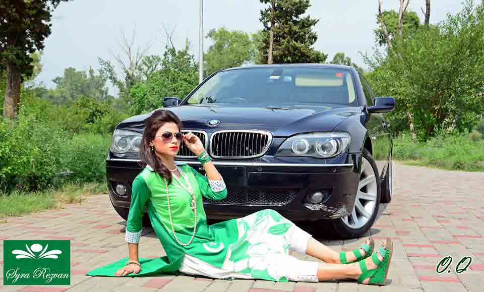 Pakistan independence day 14th August dresses for girls in Pakistan 2017