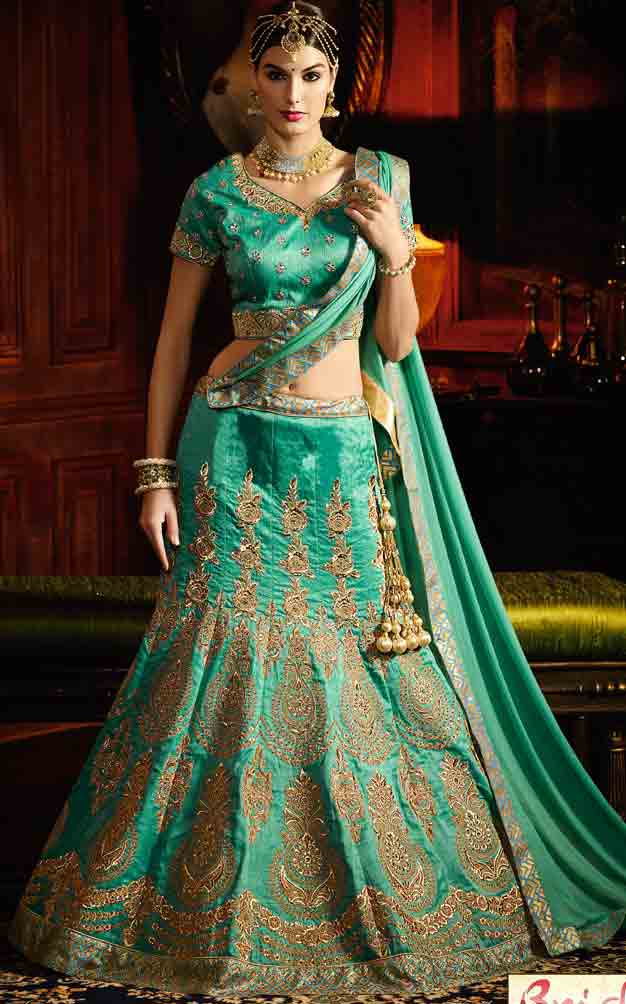 Indian Lehenga Choli Designs For Bridals In 2018