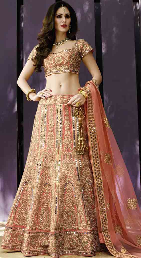 Indian Lehenga Choli Designs For Bridals In 2018 Fashioneven