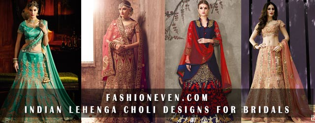 Indian Lehenga Choli Designs For Bridals In 2019