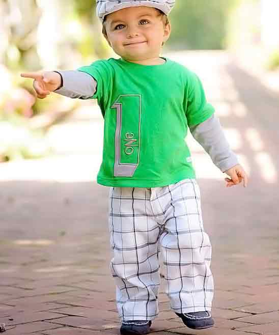 green shirt with white trousers for 14th august dresses for baby boys in Pakistan 2017