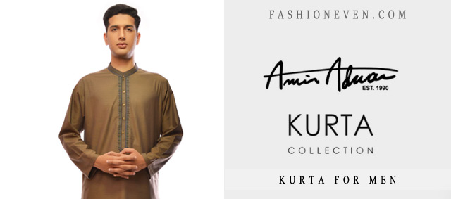 Amir Adnan fashion designers kurta for men 2017