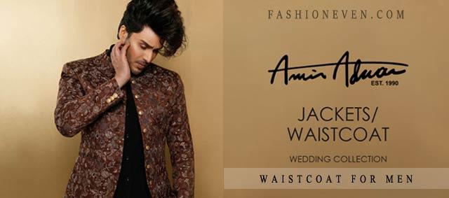 Amir Adnan waistcoat for men 2017
