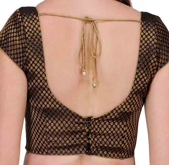 Back saree blouse styles for Indian saree blouse designs 2017