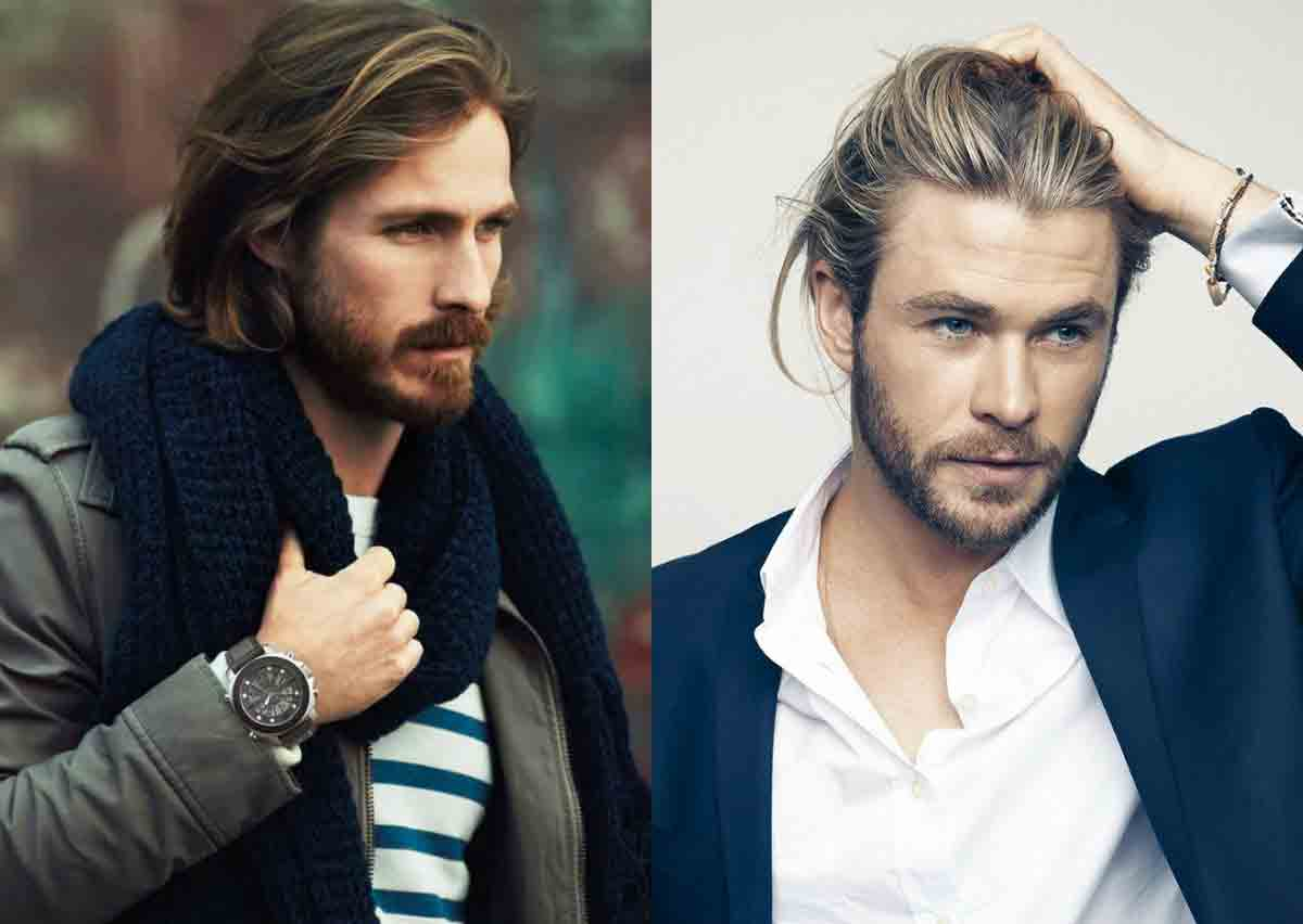 Long messy hair best long haircuts and hairstyles for men in 2017