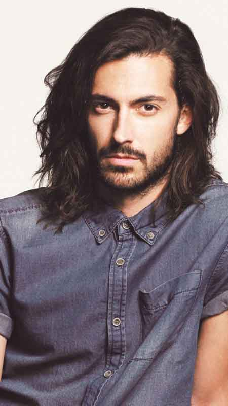 Shoulder length simple and best long haircuts and hairstyles for men in 2017