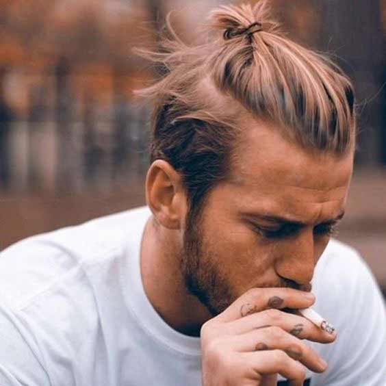Ponytail best long haircuts and hairstyles for men in 2017