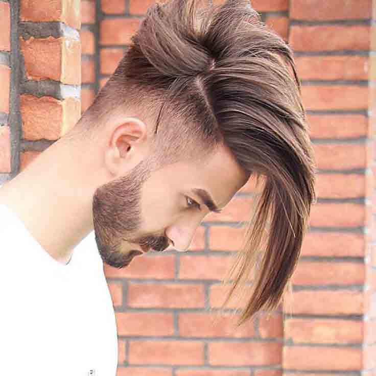 Long side part with undercut best long haircuts and hairstyles for men in 2017