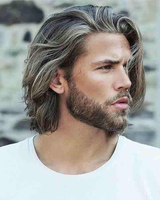 chin length best long haircuts and hairstyles for men in 2017