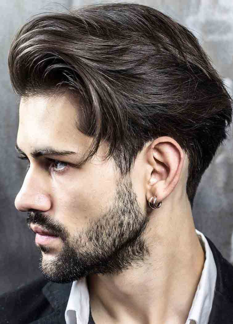 Long side part best long haircuts and hairstyles for men in 2017