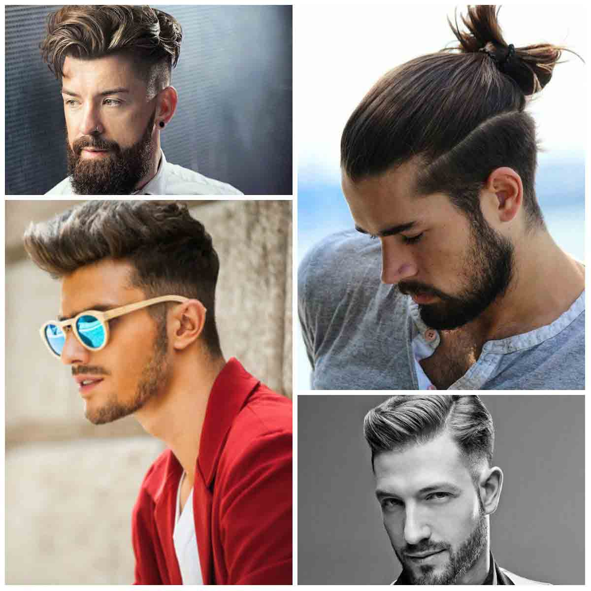 New hair bun and best long haircuts and hairstyles for men in 2017