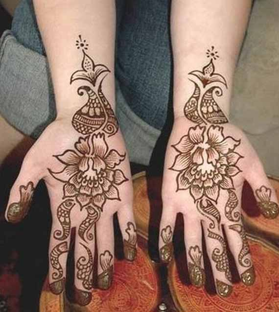 New designs of mehndi designs for boys hands 2017