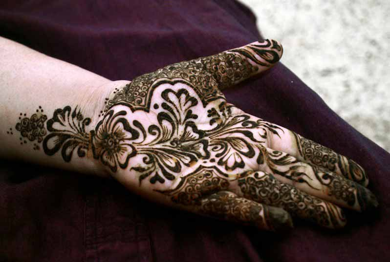 Full front hand mehndi designs for boys hands 2017