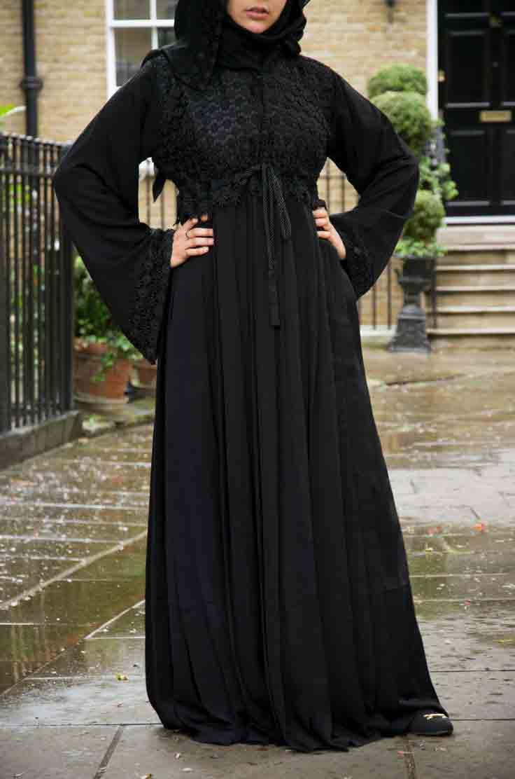New abayas stylish exclusive photo