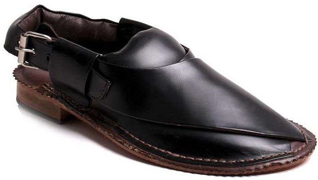 Latest black Peshawari chappal designs 2017 for men