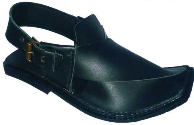 New black Peshawari chappal designs 2017 for men