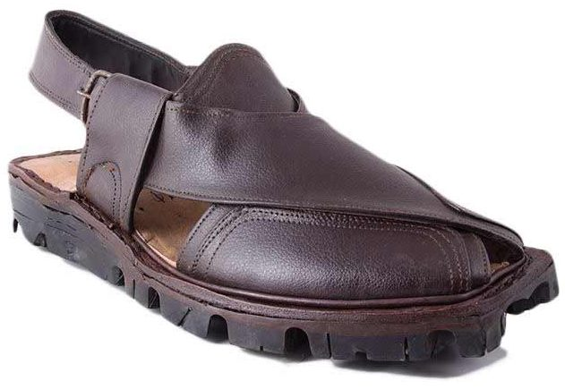 Best dark brown Peshawari chappal designs 2017 for men