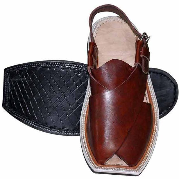 New stylish brown Peshawari chappal designs 2017 for men