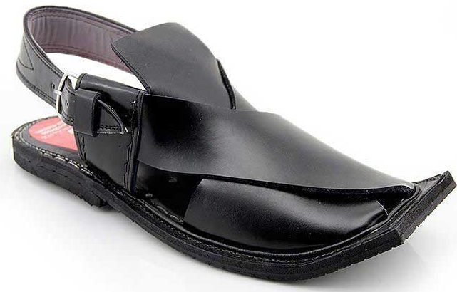 Best black Peshawari chappal designs 2017 for men