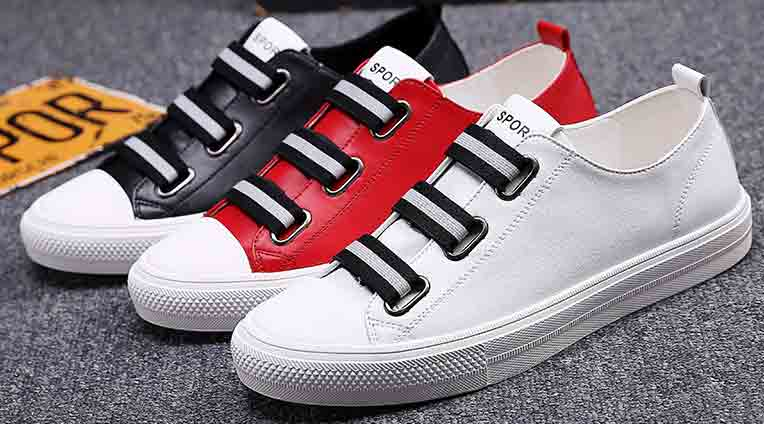 New red white and black Christmas shoes for men in 2017