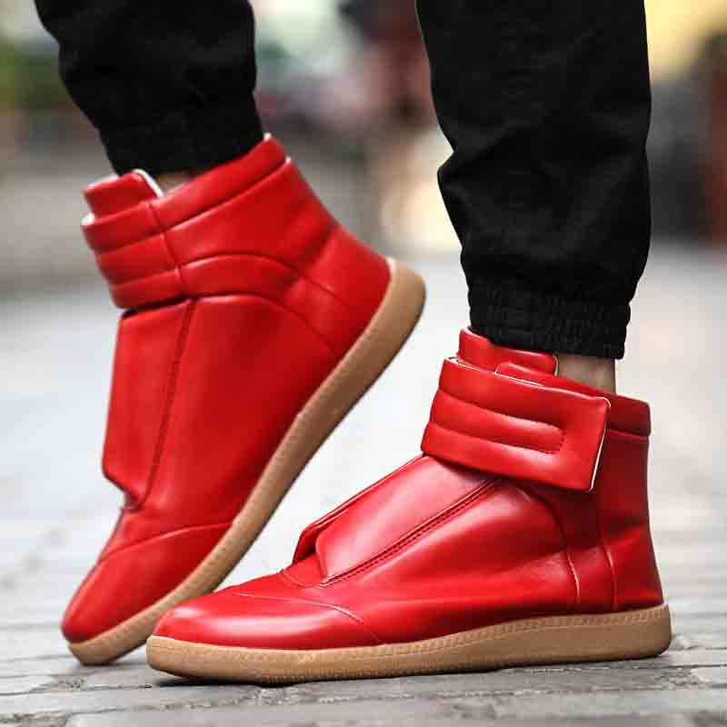 Latest red Christmas shoes for men in 2017