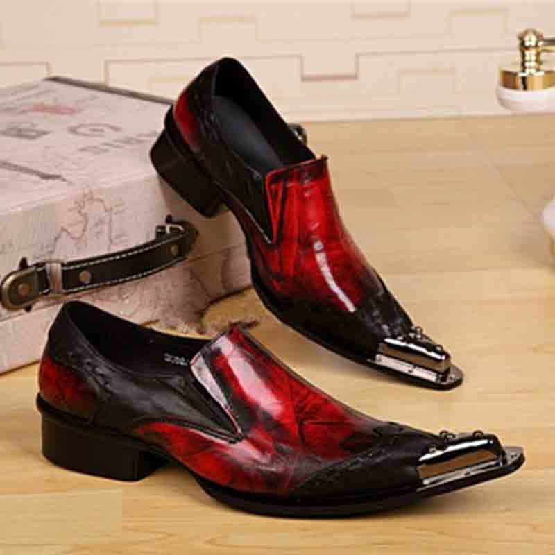 Latest red and black Christmas shoes for men in 2017