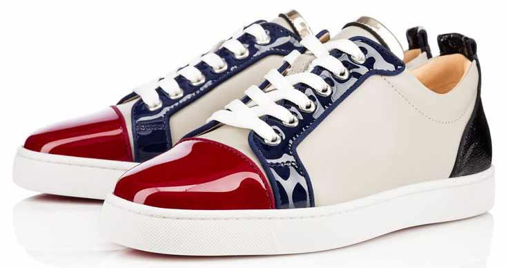 Latest blue and white Christmas shoes for men in 2017
